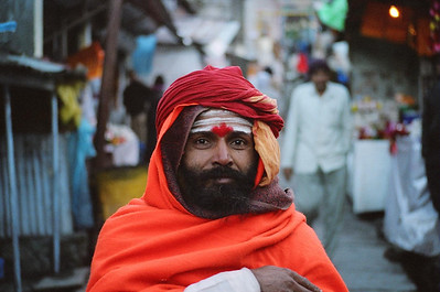 Sadhu at Kedarnath